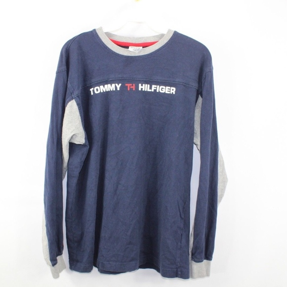 1ce245144 Tommy Hilfiger Shirts   Vintage Spell Out Long Sleeve Shirt   Poshmark